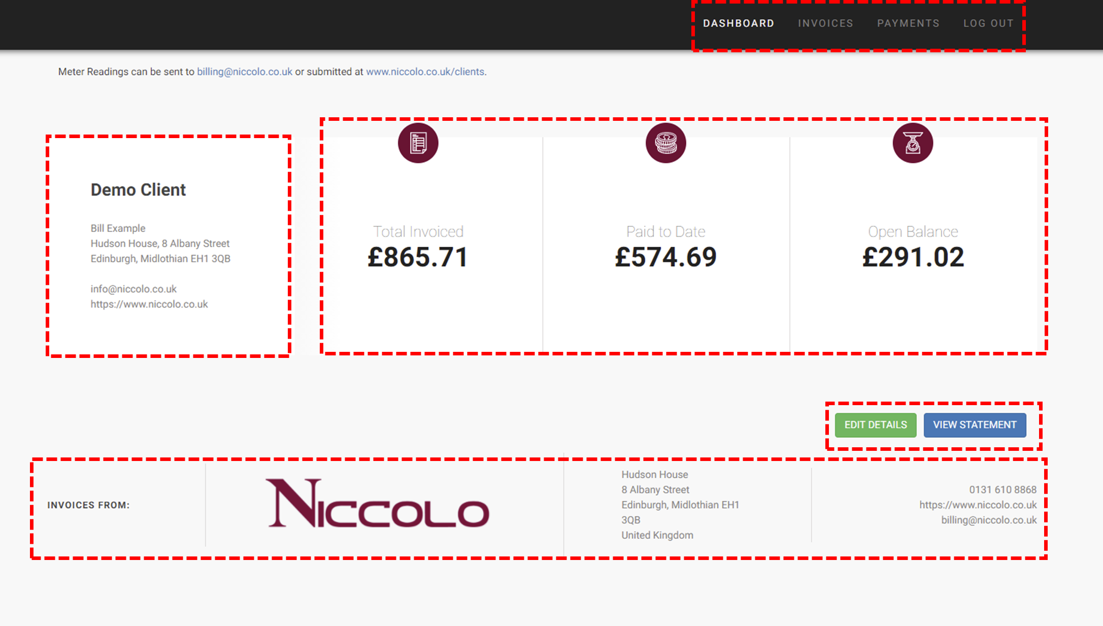 Niccolo Gas Billing Platform